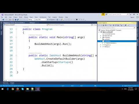 Create and Consume ASP.NET Core Web API