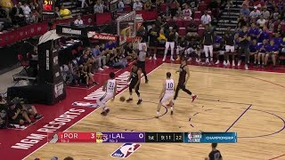 1st Quarter, One Box Video: Los Angeles Lakers vs. Portland Trail Blazers