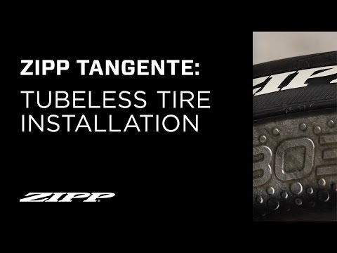 ZIPP TangenteTubeless Tire Installation