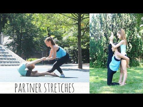 Partner Stretches for Improving Flexibility