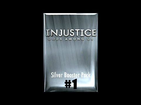 Injustice Gods Among Us [iOS] - Silver Booster Pack Opening #1