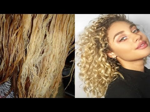 GET YOUR CURLS BACK AFTER BLEACH WITH APHOGEE !