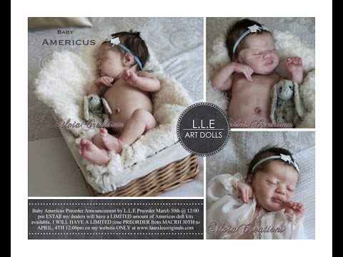 Win your own FREE custom reborn Americus Baby Doll!