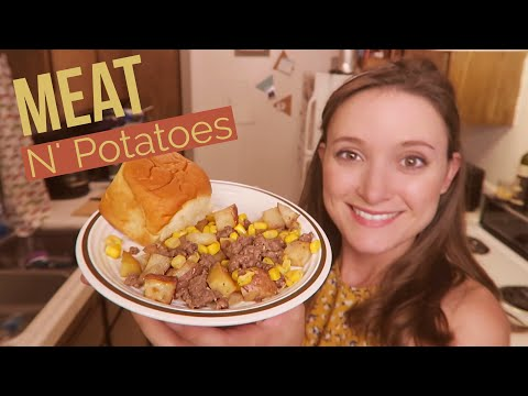 Dinner on a Dime!! Simple Meat-n-Potatoes Recipe