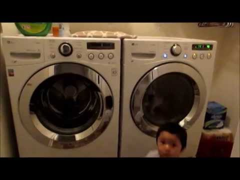 Some helpful tips for the LG Front Loading Washer & Dryer Set