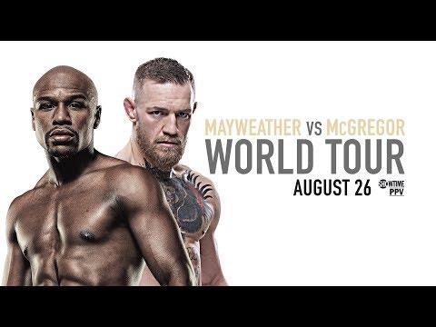 Mayweather vs McGregor: Toronto Press Conference