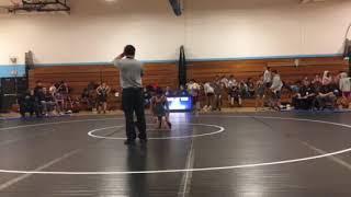 Wrestling- Brooks vs Hufford 1/29/18