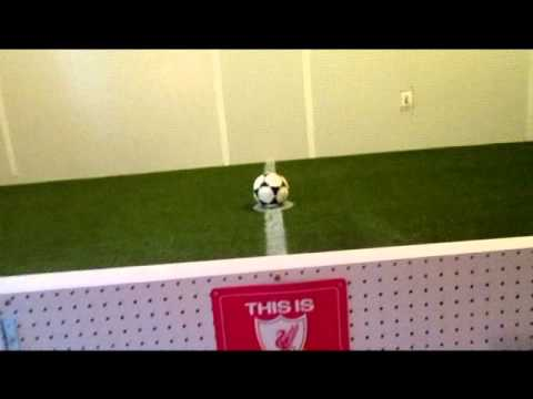 Building an Indoor Soccer Field in our basement