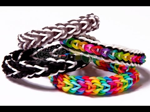 Vesper Rainbow Loom Bracelet Tutorial - Advanced Design