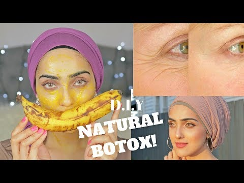 Anti-Aging Face Mask To REDUCE WRINKLES + NATURAL BOTOX | Instant Effects! ~ Immy