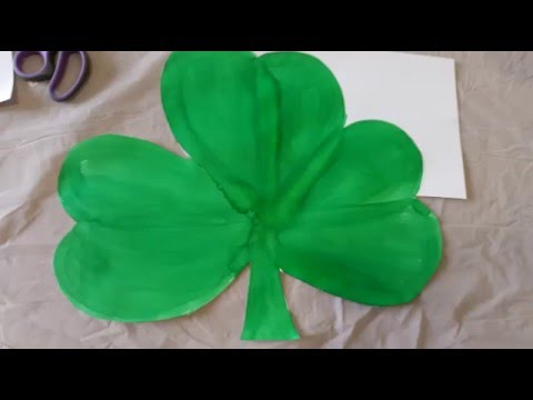 St patrick day craft project 2016