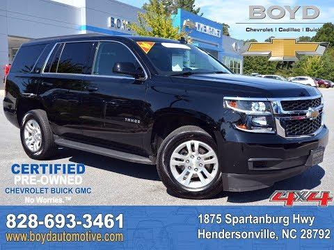 2016 Chevrolet Tahoe Hendersonville NC U7770