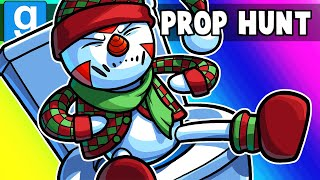 Gmod Prop Hunt Funny Moments - Delirious is the Worst Hiding Partner (Christmas 2019)