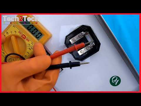 How To Test Solar Panel Amps voltage Using Multimeter in English | solar companies