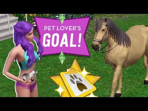 PET LOVER'S GOAL! - Sims 3 Ever After Ep.44