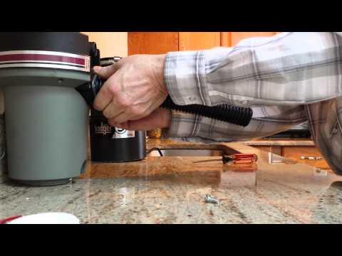 Video.14B Installing flex p trap with Disposal Sinkmaster