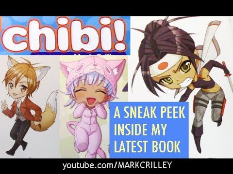 CHIBI! A Sneak Peek at My Newest How-to-Draw Book