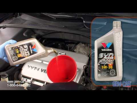 Why choose Synthetic Oil change ? - Valvoline - Napa - Powered by GEM-CAR