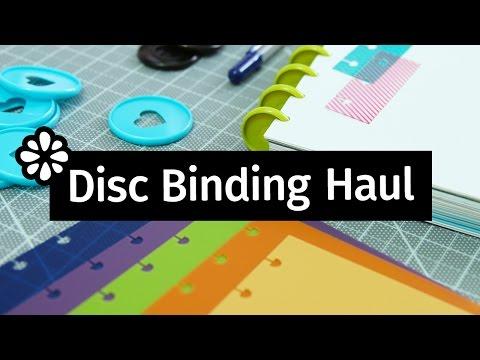 Disc Binding Haul: Notebook Covers, Rings & Supplies! | Sea Lemon