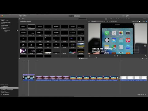 iMovie for Mac - The Basics