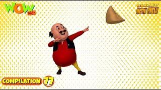 Motu Patlu - Non stop 3 episodes | 3D Animation for kids - #77