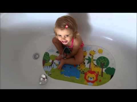 Anti Slip Baby Bath Mat by Salinka