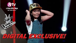 Shekinah Mukhiya Imitates Coach Himesh   Moment   The Voice India Kids - Season 2