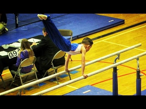 Luke's First Gymnastics Competition