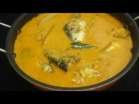 Naadan mathi curry with coconut(തേങ്ങാ അരച്ച നാടൻ മത്തി കറി )Fish curry(sardine)