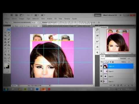 Photoshop Ϟ Cómo hacer collage tipo ''Tumblr''
