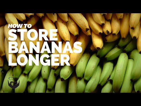 How to Store Bananas Longer