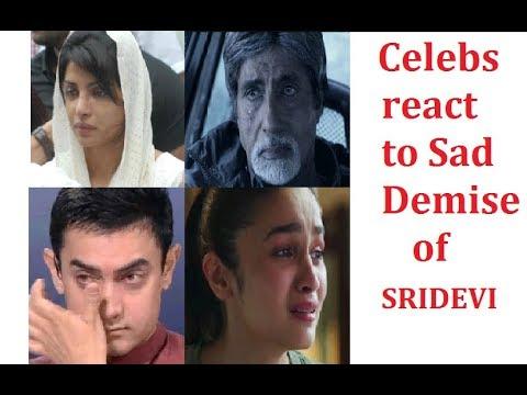 Celebs react to sad Demise of Sri devi ji