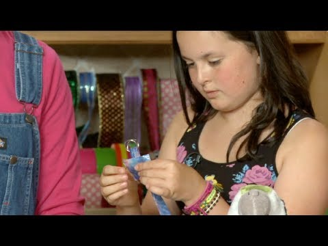 How to Make a Duct Tape Stuffed Animal Collar | Sophie's World