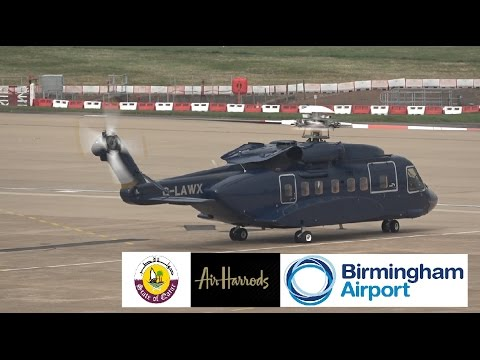 Air Harrods Flight SSP092 (Stansted to BHX/BHX to Stansted)