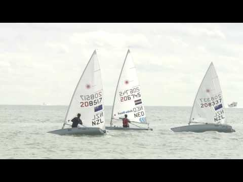 2016 Sailing World Cup Miami - Laser Medal Race