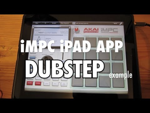 iMPC iPad App Dubstep Music [High Quality Sound]