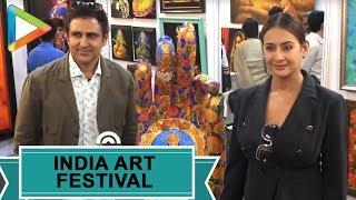 Inauguration of the India Art Festival with many | Preeti Jhangiani | Ranvir Shorey