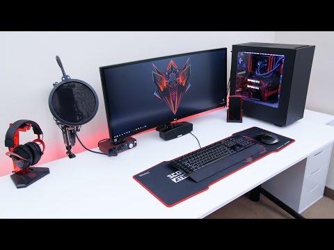 Ultimate Desk Tour - Ed's Desk Setup