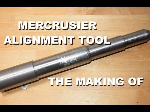 The Making of a Mercruiser Sterndrive Engine Alignment Tool