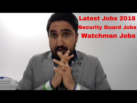 DUBAI LATEST JOBS | SECURITY GUARDS AND WATCHMAN JOBS IN DUBAI UAE BY FASI DUBAI DUBAI !!!