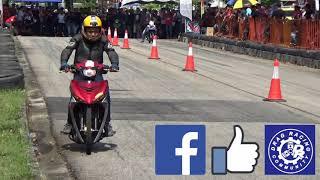 PART3/4 DRAG Bike Y15ZR RS150R Std Body Drag Racing Kubang Menerong May  2018 - getplaypk