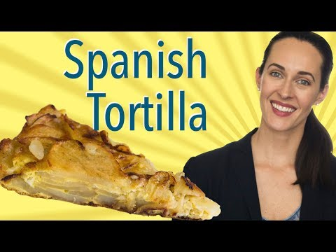 Spanish Tortilla, Potato & Onion Frittata - How to Make Spanish Tortilla Recipe Demo