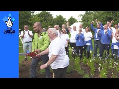 Millionaire make their mark at National Memorial Arboretum