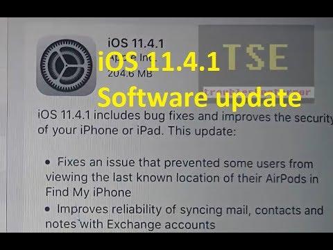 iOS 11.4.1 Software Update Fixes & Improvements iPhone, iPad