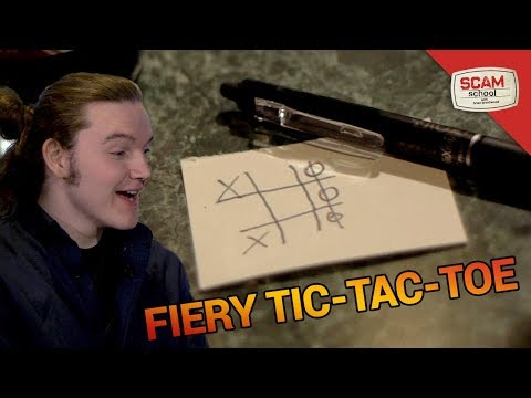 Tic-Tac-Toe and Fire: A Winning Combination!