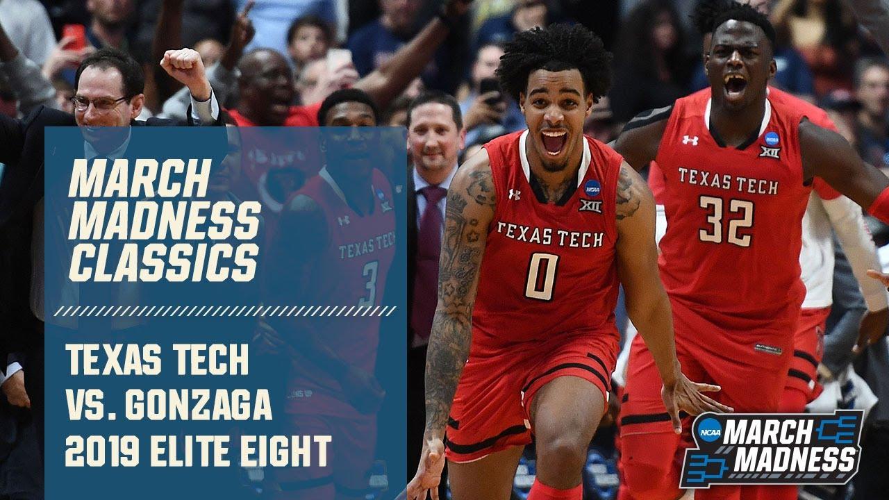 Texas Tech vs. Gonzaga: 2019 Elite Eight | FULL GAME