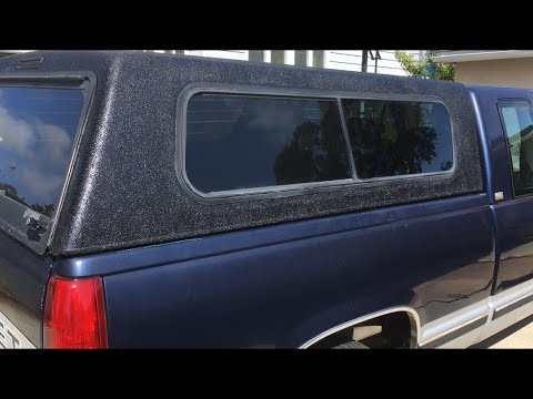 Painting A Truck Topper With Bedliner
