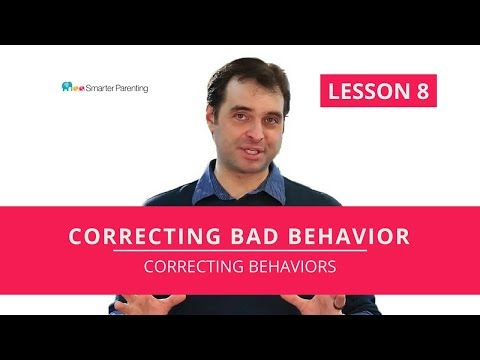 How to correct children's bad behavior | Fixing behavior problems with Correcting Behavior