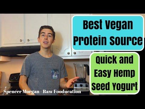 Best Vegan Protein Source?! ★Simple 5 Minute Hemp Seed Recipe★