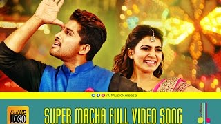 Super Macha Full Video Songᴴᴰ - S/o.SathyaMurthy Malayalam (2015) Official |AlluArjun,DeviSriPrasad